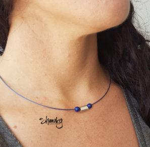 """náhrdelník """"Na drátě"""""""